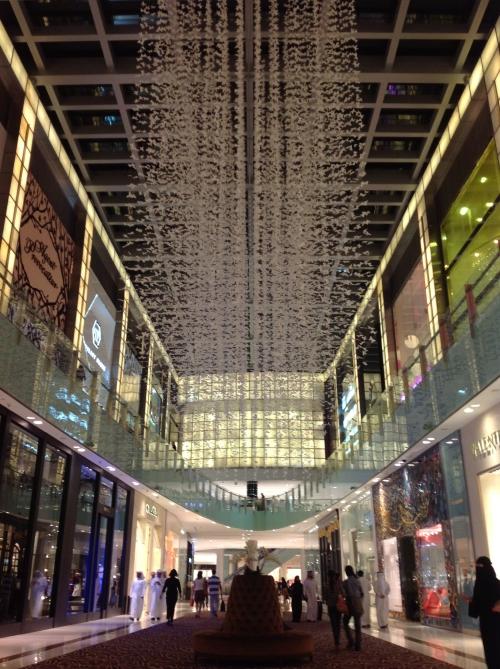 Uno de los impresionantes Malls